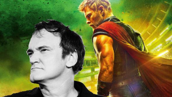 Quentin Tarantino x Thor: Ragnarok