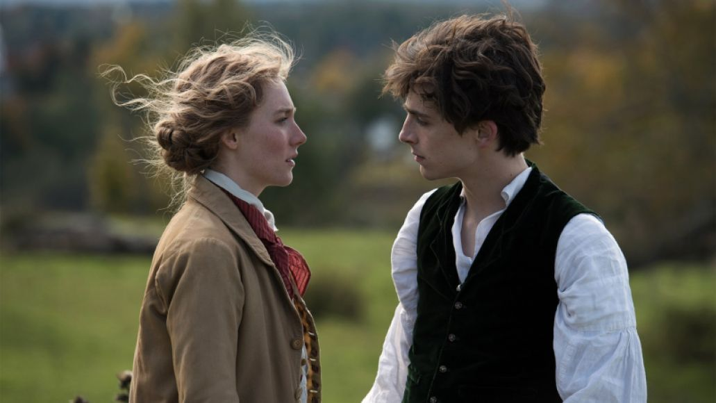 little women 2019 film timothee chalamet saoirse ronan