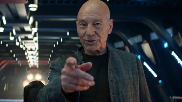Patrick Stewart in Star Trek: Picard
