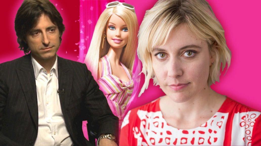 Greta Gerwig Barbie movie Noah Baumbach mattel writer director