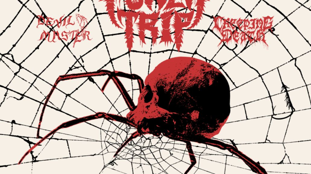 High on Fire Power Trip tour poster