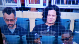 Jack White enduring a Mets game