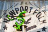 Kermit the Frog at If I Had a Song at Newport Folk Festival 2019 ben kaye