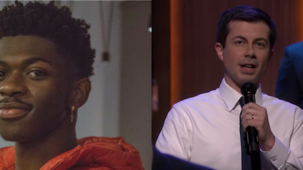 "Lil Nas X denies ""Old Town Road"" collaboration Mayor Pete Buttigieg on The Tonight Show Starring Jimmy Fallon"