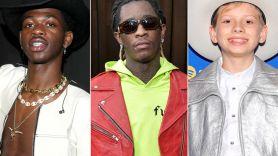 Lil Nas X, Young Thug, and Mason Ramsey