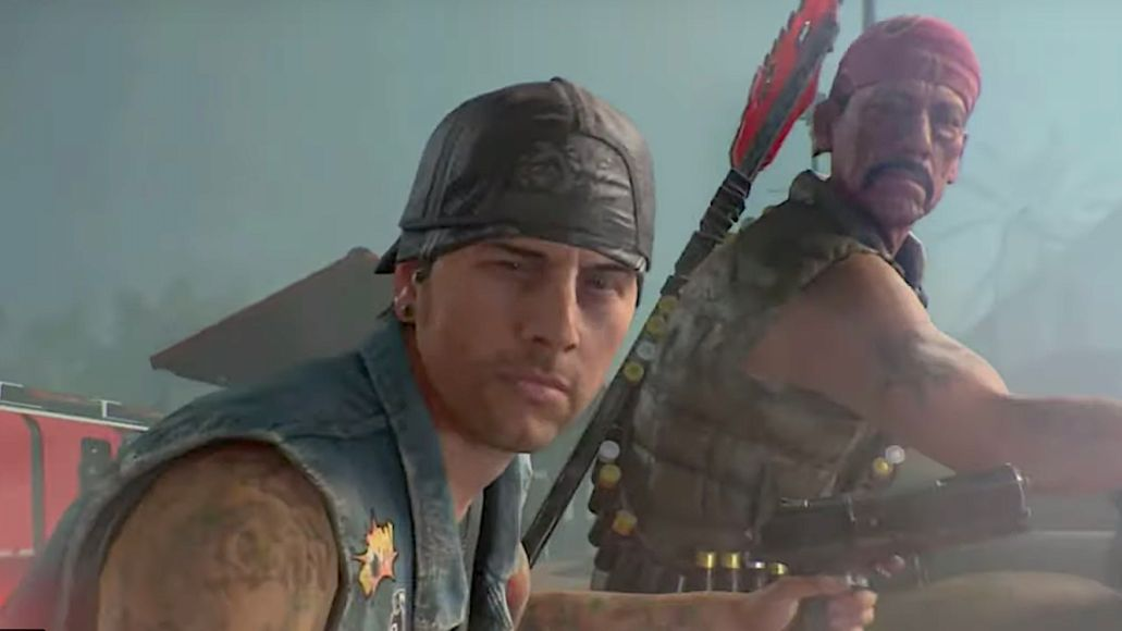 M. Shadows and Danny Trejo characters in Call of Duty Black Ops 4