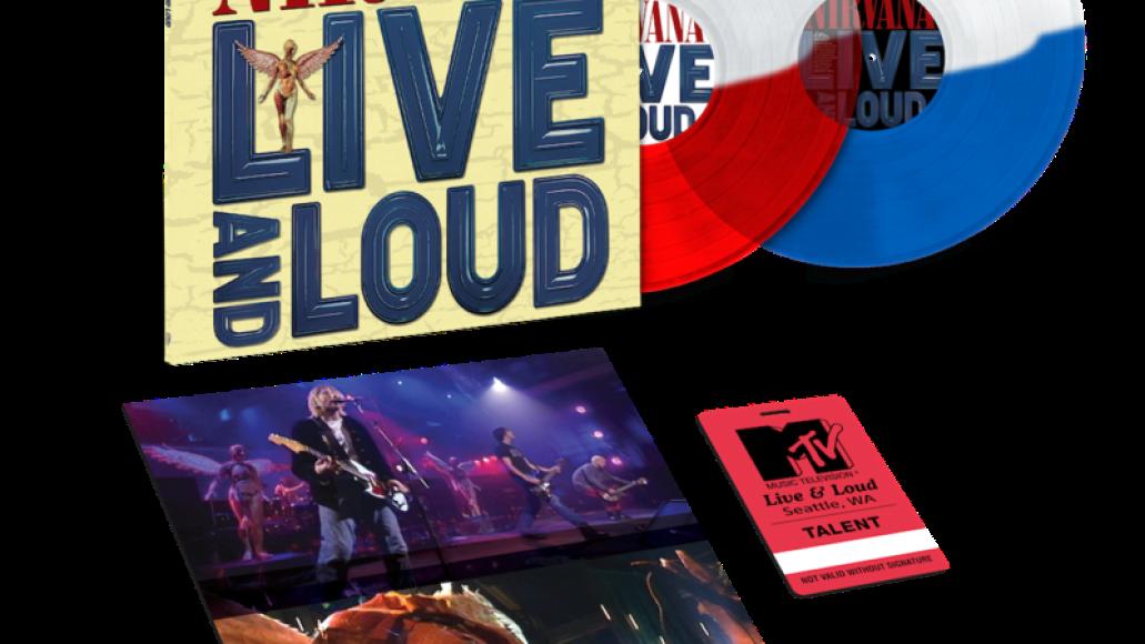 nirvana live and loud vinyl digital streaming