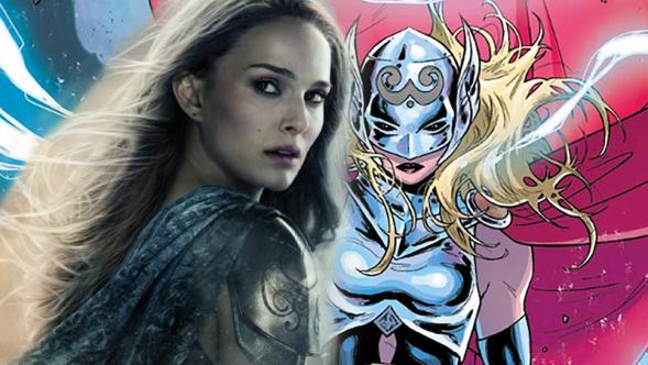Natalie Portman Goddess of Thunder Thor Love and Thunder Tesse Thompson Valkyrie LGBTQ Gay Queen King