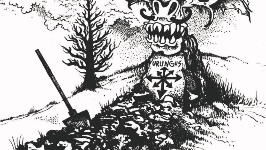 Oderus Urungus sketch of memorial marker