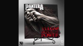 Pantera Vulgar Display of Power 3D artwork