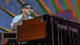 R.I.P. Art Poppa Funk Neville Meters Photo by Susan Weiand