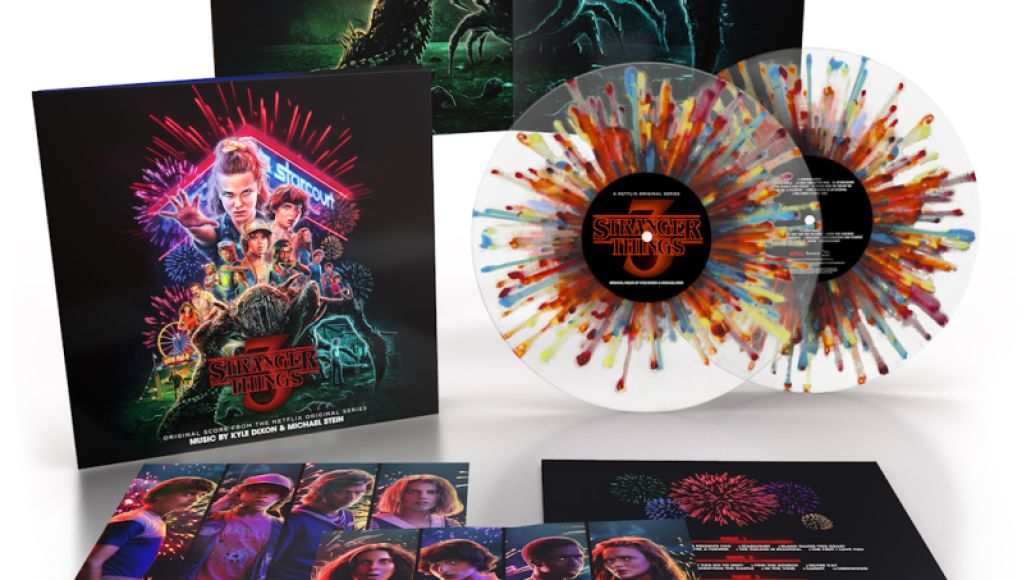 Stranger Things 3 vinyl beauty Fireworks 1080 Stranger Things Composers on How Themes Grow Up and Scoring Season Threes Tearful Ending