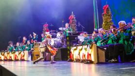 The Brian Setzer Orchestra, photo by Suzie Kaplan