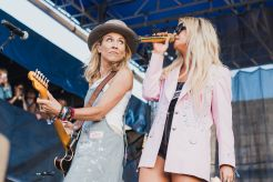 Sheryl Crow and Maren Morris at ♀♀♀♀: The Collaboration at Newport Folk Festival 2019