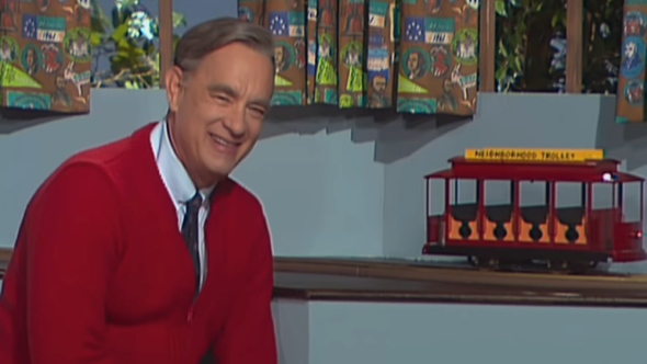 Tom Hanks in Mr Rogers biopic