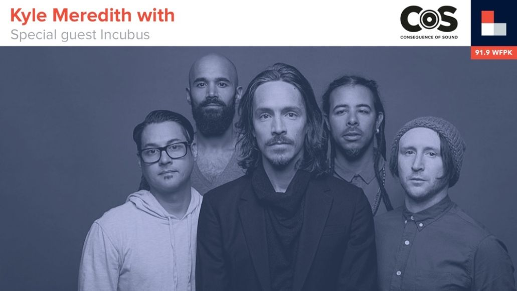Kyle Meredith With Incubus