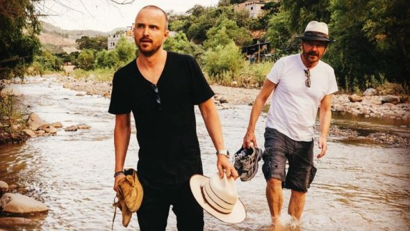 Aaron Paul and Bryan Cranston are back in business