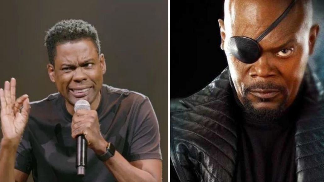 Chris Rock and Samuel L Jackson in Saw