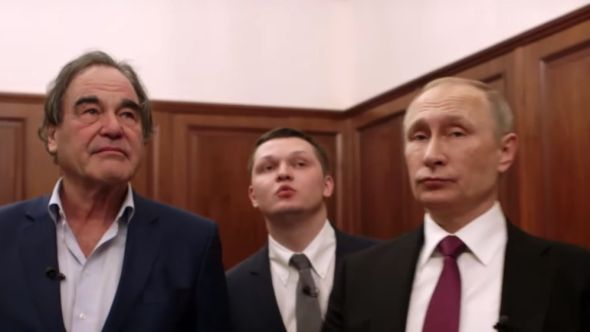 Oliver Stone x Vladimir Putin