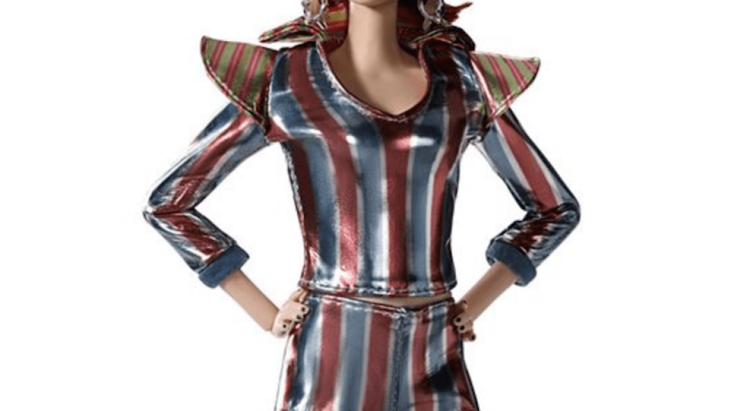 space oddity bowie barbie 3 Mattel releases David Bowie inspired Barbie to celebrate 50th anniversary of Space Oddity