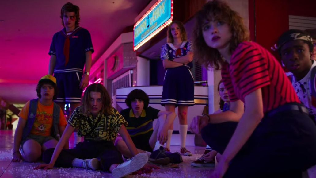 Starcourt Mall in Stranger Things 3 (Netflix)
