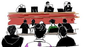 ASAP Rocky court sketch
