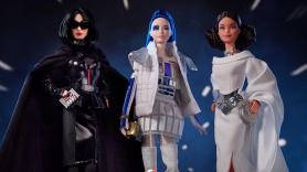 Barbie Star Wars mattle dolls