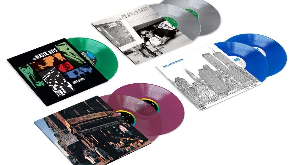 Beastie Boys colored vinyl reissues
