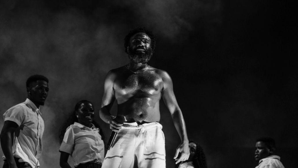 Childish Gambino at Lollapalooza 2019, photo by Greg Noire
