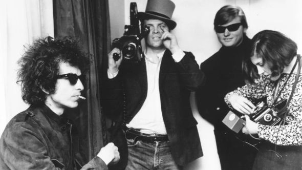 D. A. Pennebaker with Bob Dylan