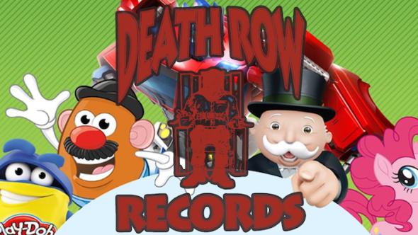 Death Row Records Hasbro