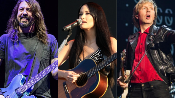 Foo Fighters (Philip Cosores), Kacey Musgraves (Heather Kaplan), Beck (Cosores)