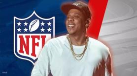 JAY-Z NFL Roc Nation Partnership live music entertainment strategist social initiatives Colin Kaepernick deal attorney picket line