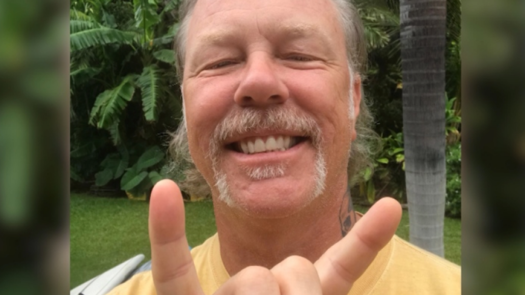 James Hetfield calls Canadian woman Metallica cougar