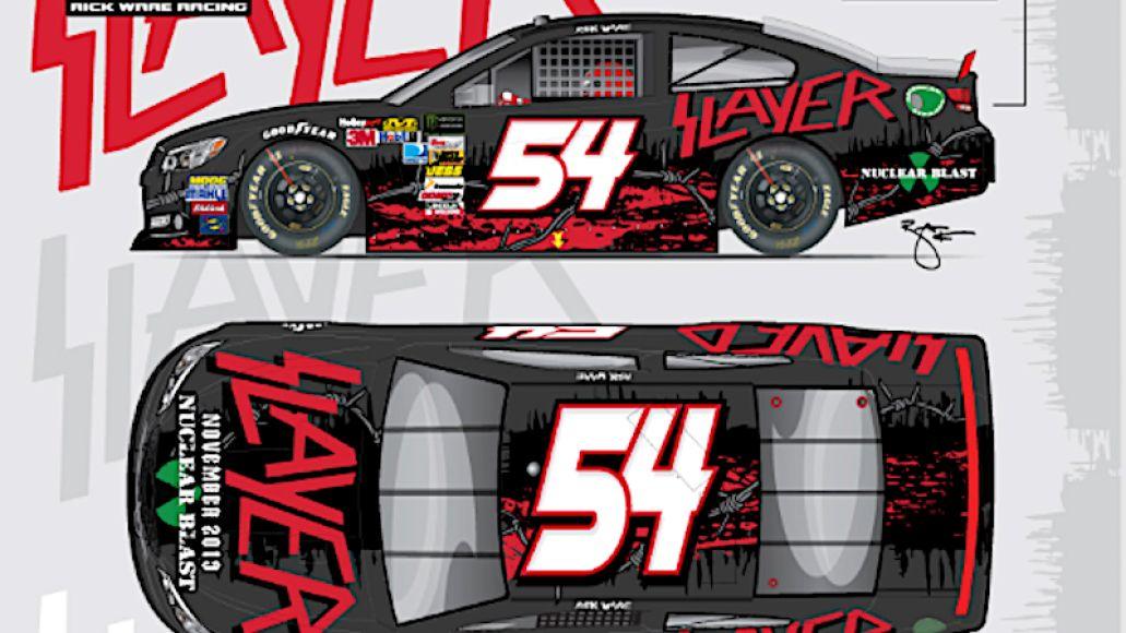 Slayer NASCAR 54 car full mockup