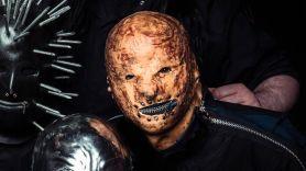 Slipknot Tortilla Man wears tortilla onstage