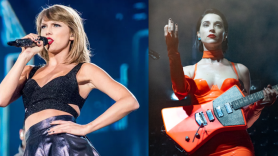"""Taylor Swift and St. Vincent co-write new song """"Cruel Summer"""" Lover, photos by David Brendan Hall and Amy Price"""