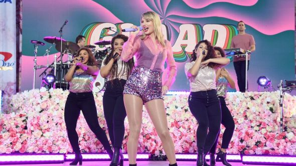 Taylor Swift on Good Morning America