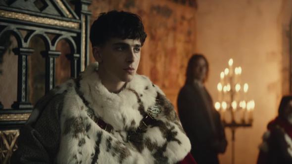The King Trailer Netflix Timothee Chalamet