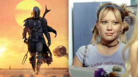 Disney+ TV shows episodes uploaded weekly The Mandalorian and Lizzie McGuire, courtesy of Disney+ and Disney