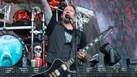 Volbeat's Michael Poulsen at Shoreline Amphitheatre