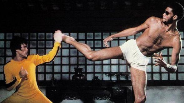 Bruce Lee x Kareem Abdul-Jabbar in Game of Death