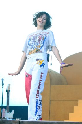 King Princess at Lollapalooza 2019, photo by Heather Kaplan