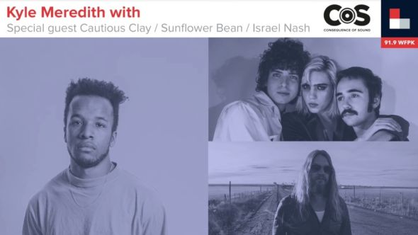 Kyle Meredith With... Cautious Clay, Sunflower Bean, and Israel Nash at Forecastle 2019