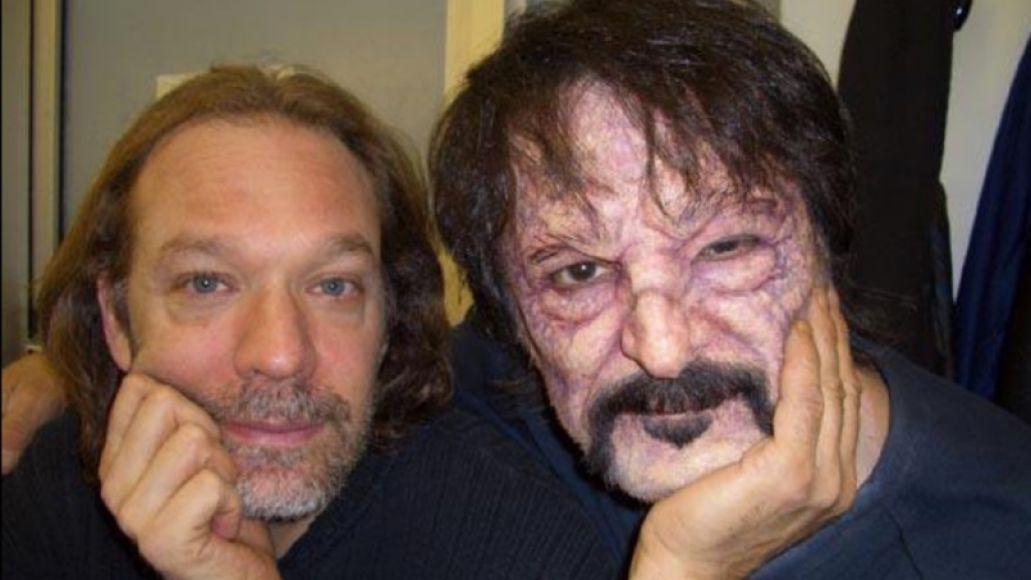 Greg Nicotero and Tom Savini, photo via Tom Savini Twitter