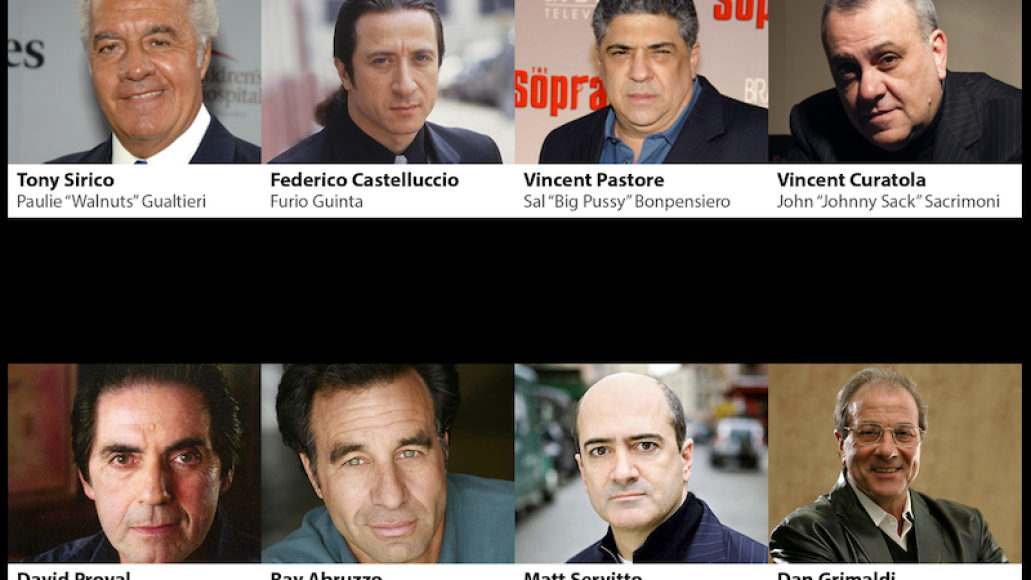sopranos convention meadowlands new jersey cast The Sopranos 20th anniversary to be celebrated with New Jersey fan convention