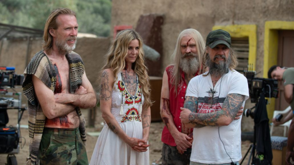 Rob Zombie shooting 3 From Hell