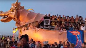 Burning Man attendees dance to new Tool album