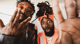 EarthGang welcome to mirrorland tour north america 2019 Grizz