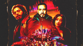 French Montana Cardi B Post Malone Writing on the Wall song video art